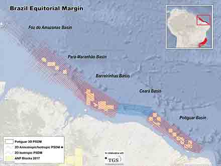 Brazil Equatorial Margin Multiclient Seismic Surveys