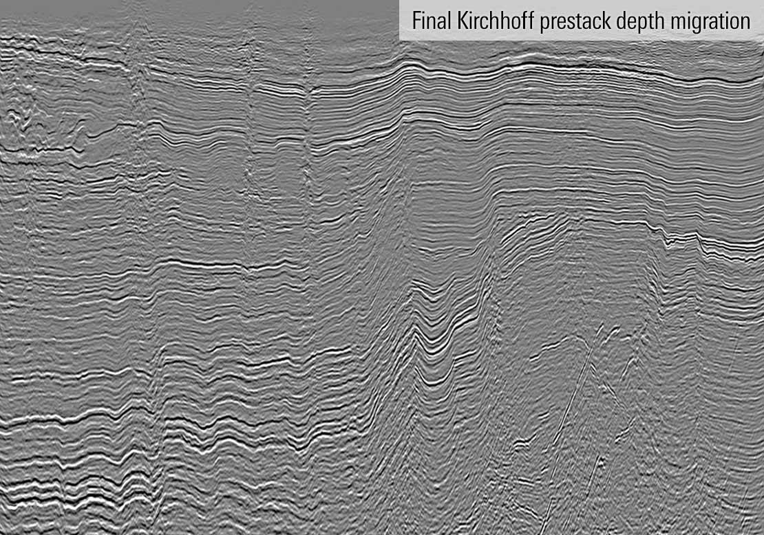 Reprocessed legacy seismic data from the Southeast Lea Depth Reimaging and Survey Merge project