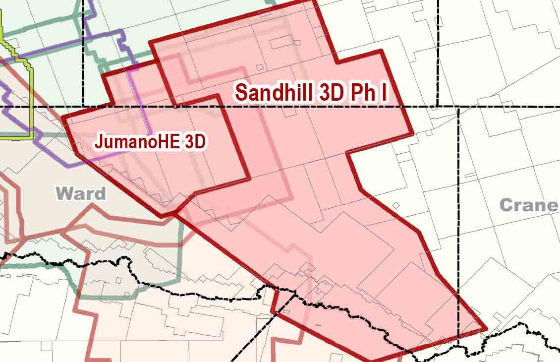 Sandhill location in West Texas
