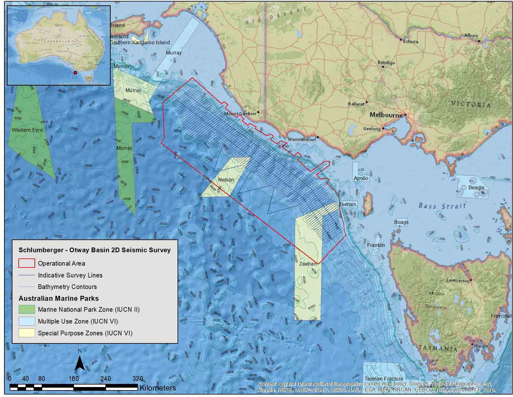 Otway Basin 2DMC Marine Seismic Survey