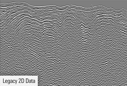 Legacy Data of 2D seismic for Egypt, Red Sea.