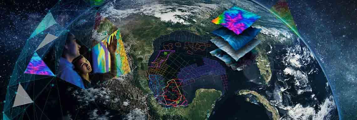 WesternGeco seismic map