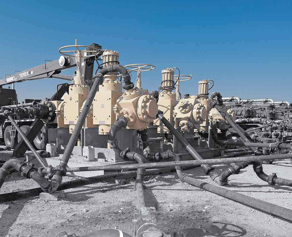 Frac Flowback Equipment Frac Manifold