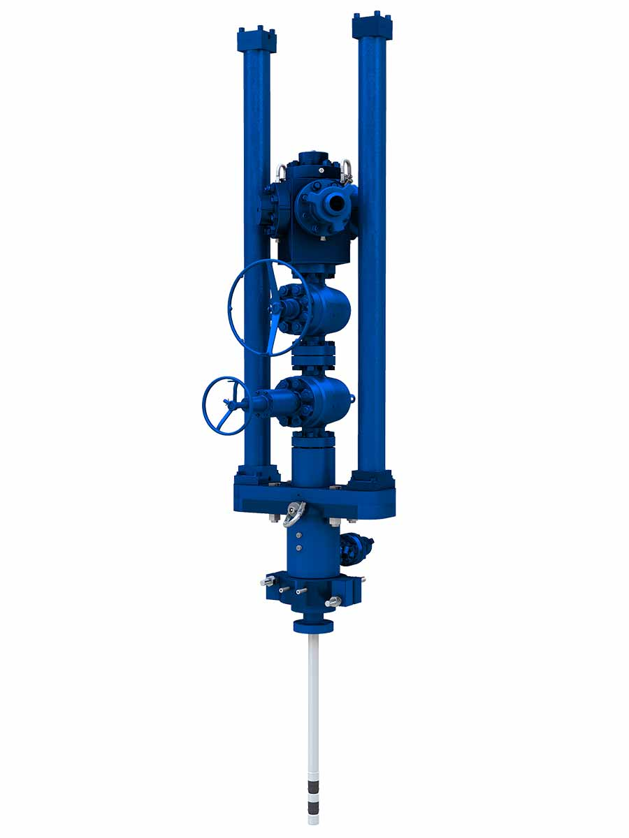 Wellhead Isolation Tool Illustration
