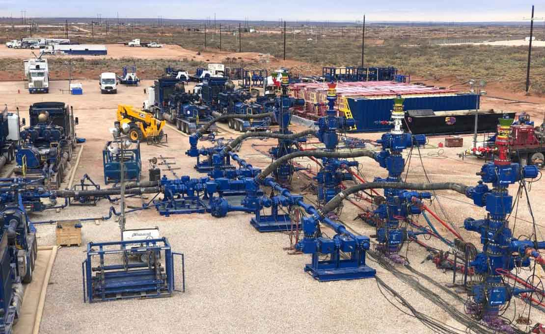 Monoflex technology connecting to frac trees in the field