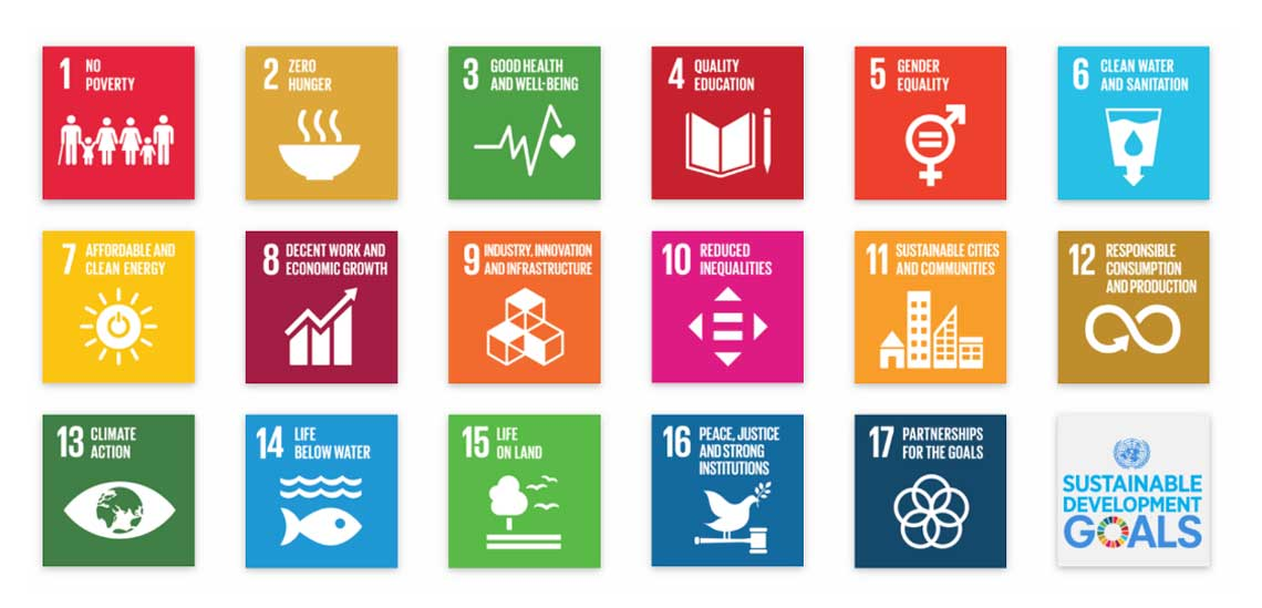 United Nations Sustainable Development Goals Icons