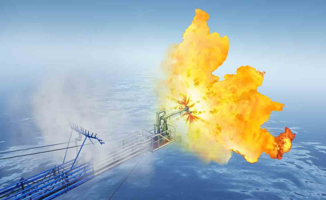 EverGreen minimal environmental impact well effluent burner flare