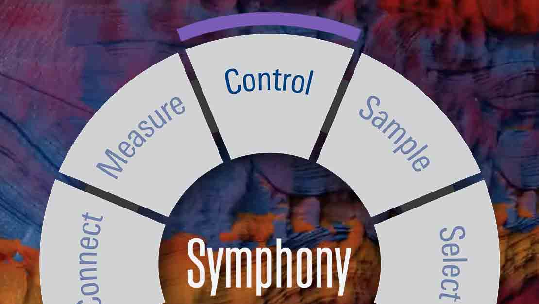 Image Symphony testing wheel  with Control chosen