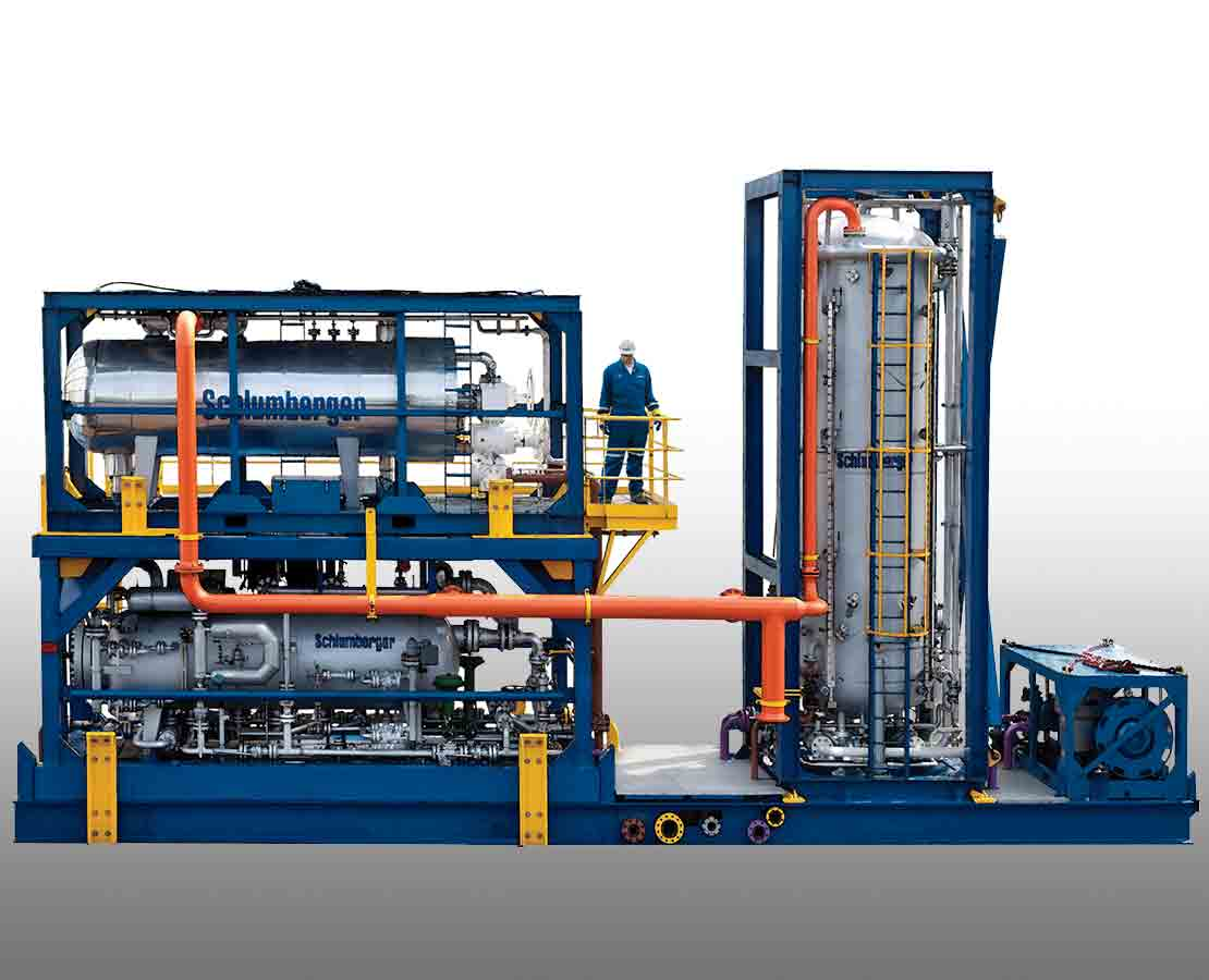 Modular compact well test system optimized packaging