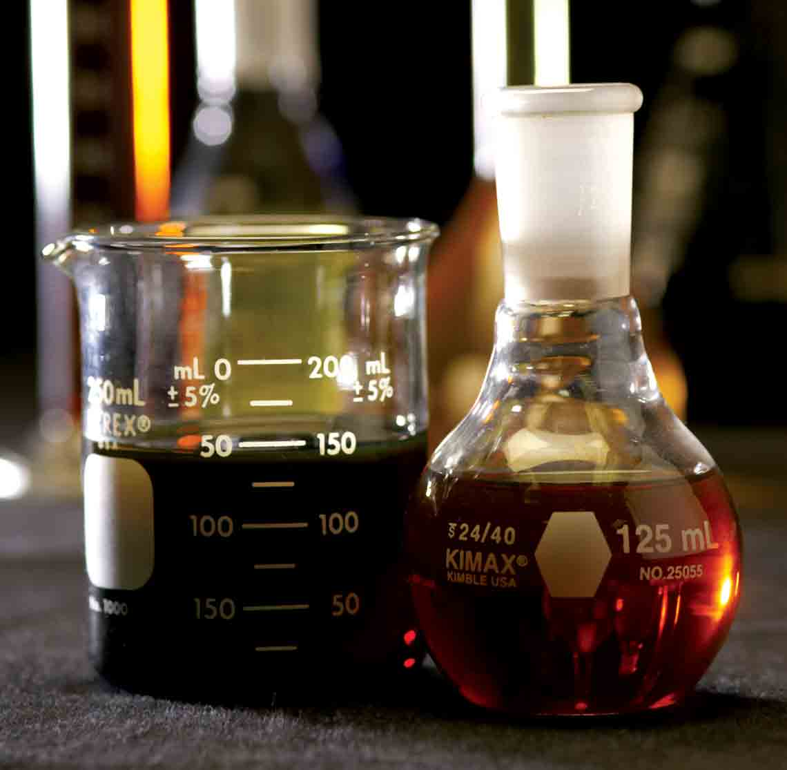Surface sampling fluids