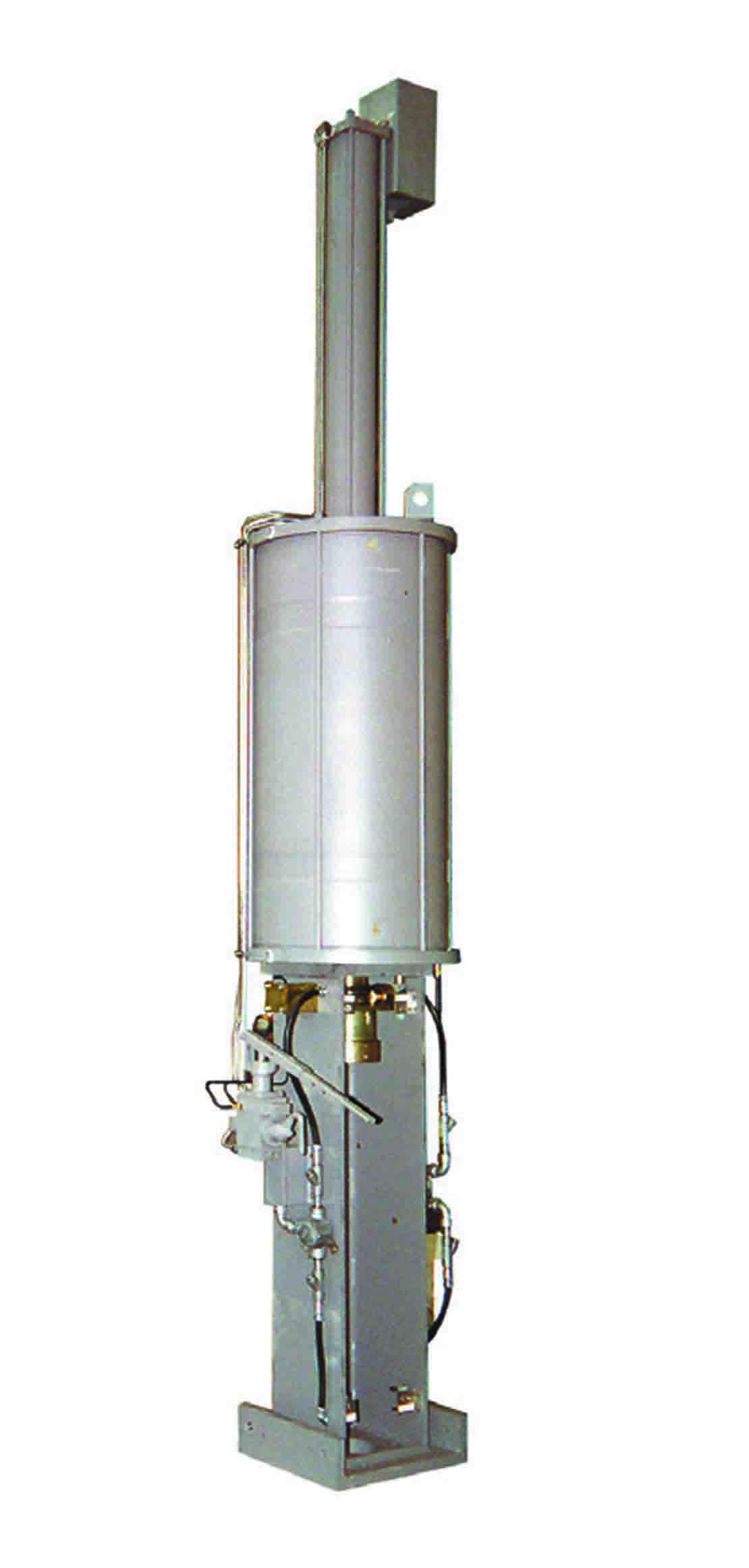 Linear pneumatic LEDEEN actuator.