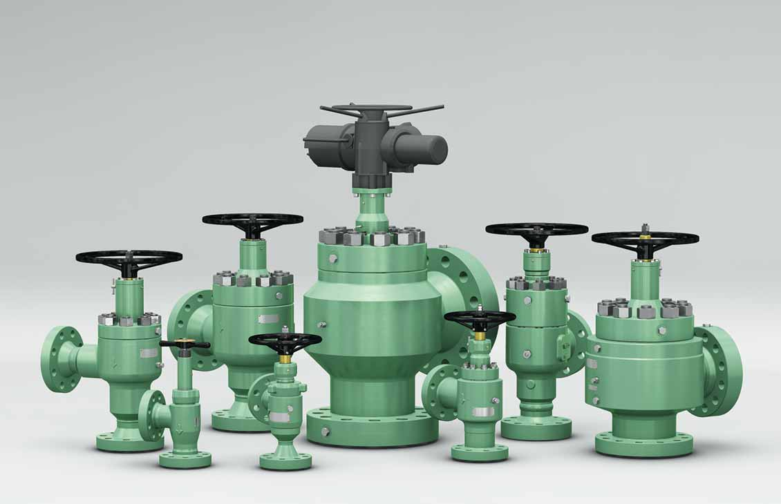 Control choke valves.