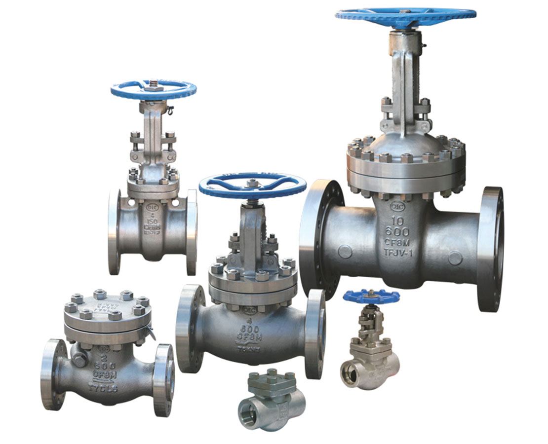 NEWCO Stainless Steel Gate, Globe, and Check Valves