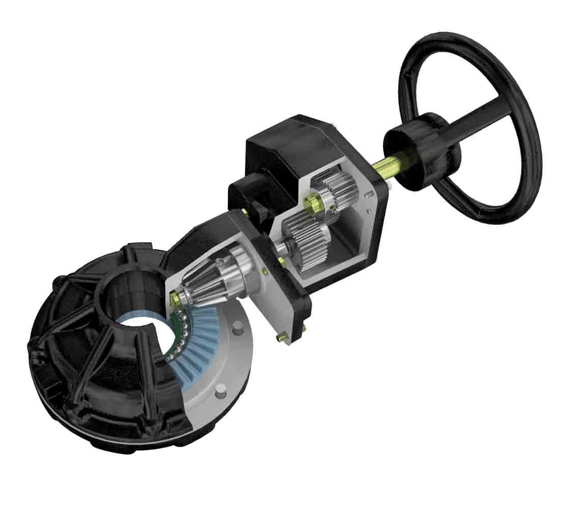 DYNATORQUE Series BG Multiturn Bevel Gear Operators