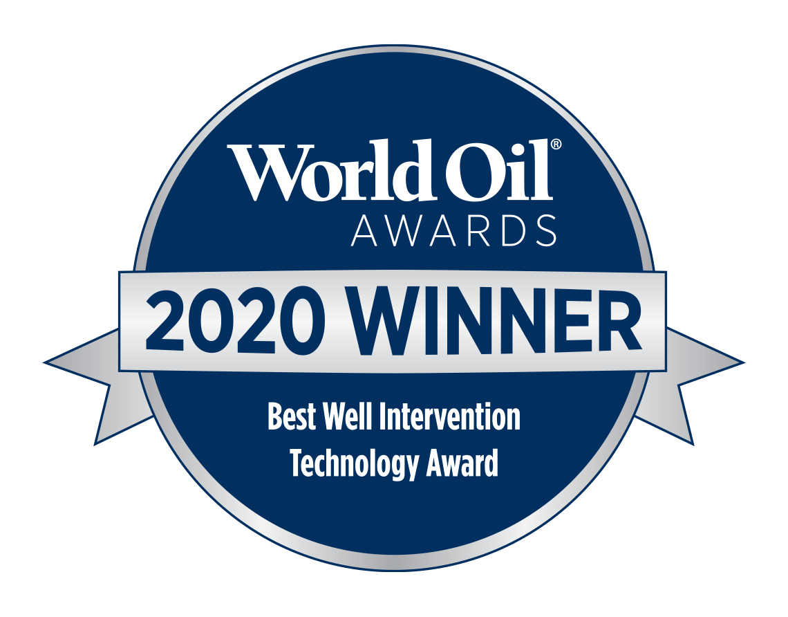 World Oil Awards 2020 Winner - Best Well Intervention Technology Award
