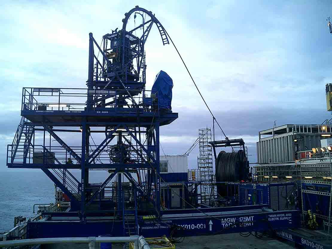 CT SEAS Automated Offshore CT Unit