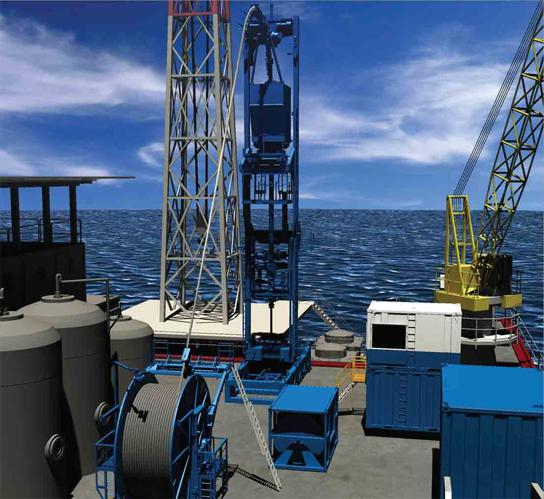 CT TComp CT Offshore Motion Compensation System