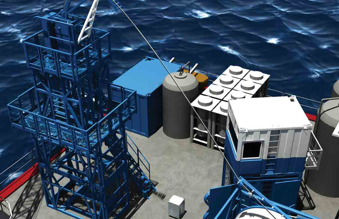 X-11 modular offshore CT unit.